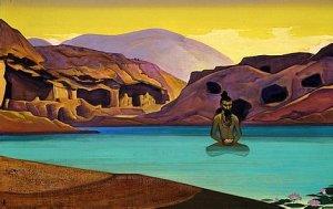 "Nicholas Roerich, ""Lotus"""