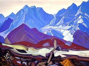 "Nicholas Roerich, ""From Beyond"""