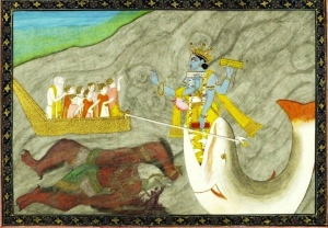 Matsya, Fish Avatar of Vishnu