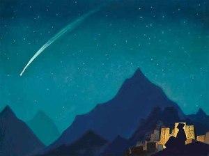 """Nicholas Roerich - """"Shooting Star"""""""