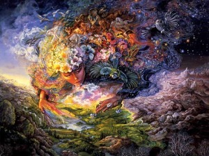 "Josephine Wall - ""Breath of Gaia"""