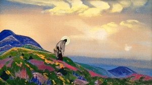 "Nicholas Roerich - ""St. Panteleimon the Healer"""