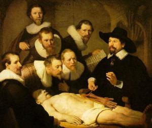 Anatomy Lesson of Dr Tulp - Rembrandt Van Rijn