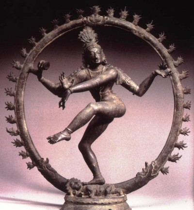 Shiva as Nataraja, the lord of the dance