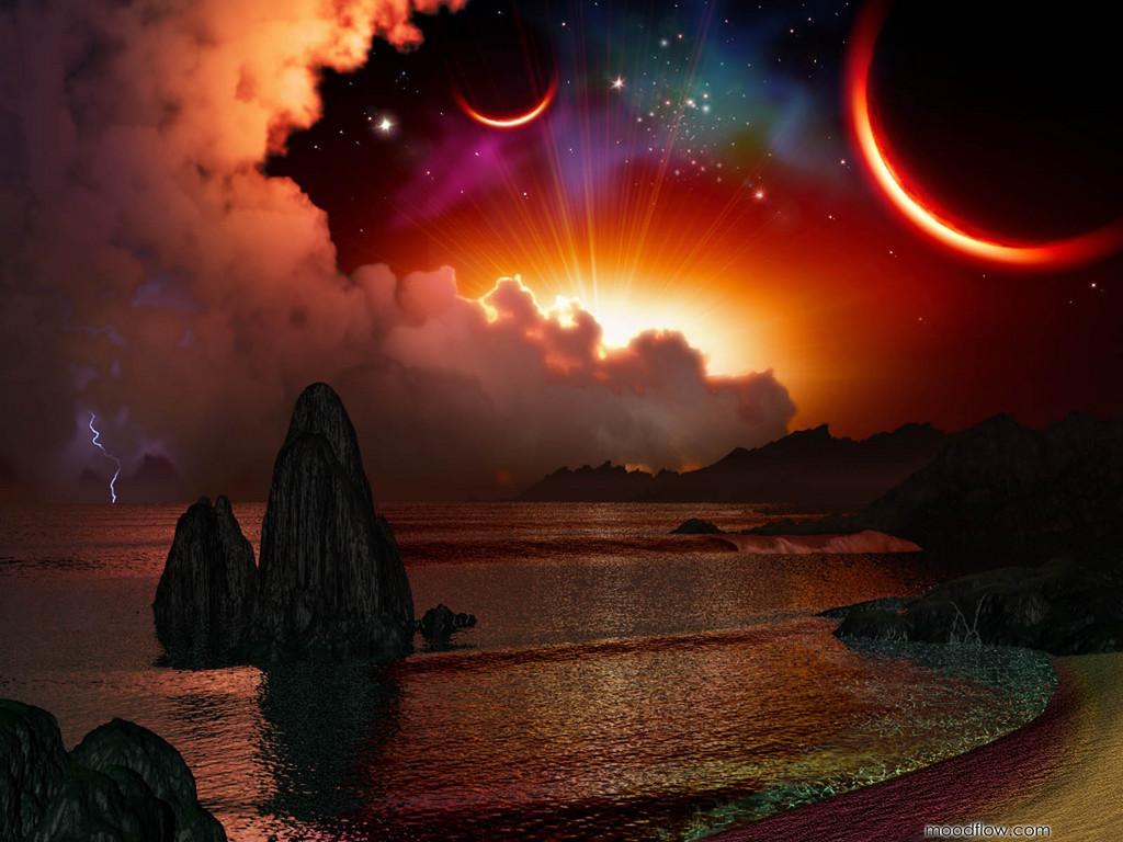 sun moon stars sky theosophy watch