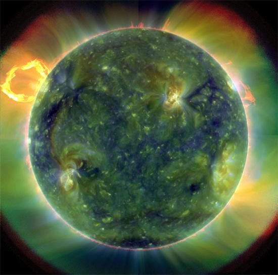 Ultraviolet-view-sun-NASA