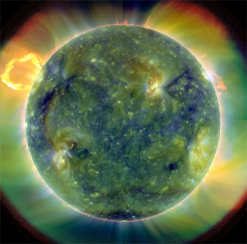 Ultraviolet-view-sun-NASA