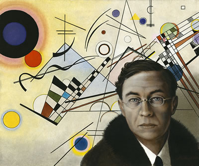 Wassily Kandinsky II by Jacques Moitoret