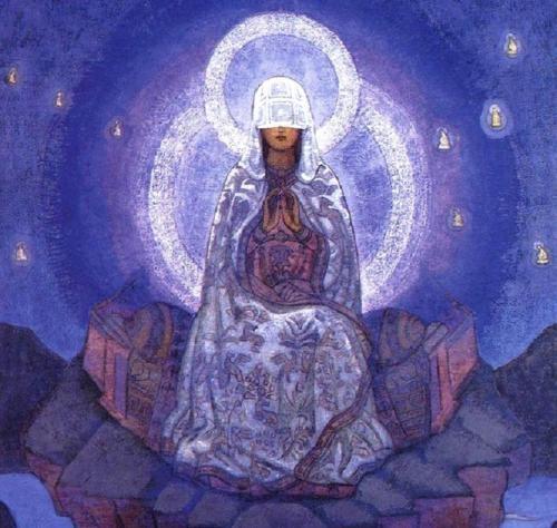 Любовь и благодать БогоМатери Nikolai-roerich-mother-of-the-world-1924