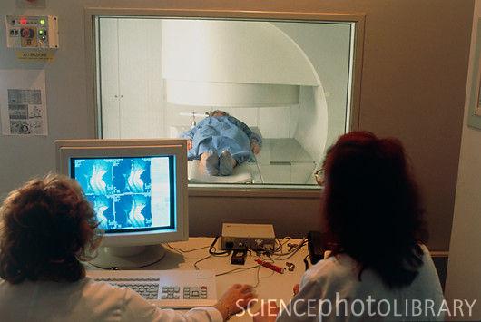 Open MRI scanner