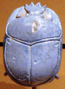 Amunhotep III & Queen Tiye, Marriage Scarab