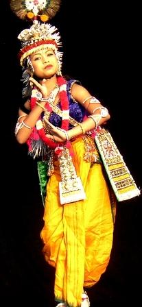 Luna: Dancing Krishna