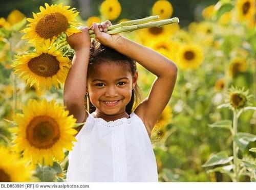 sunflower-girl