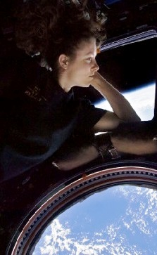NASA Astronaut Tracy Caldwell