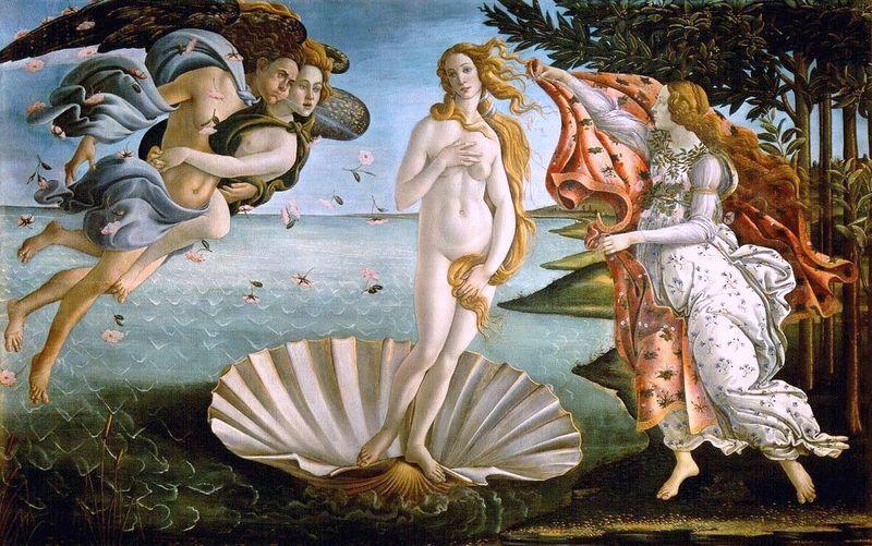 Botticelli, Birth of Venus