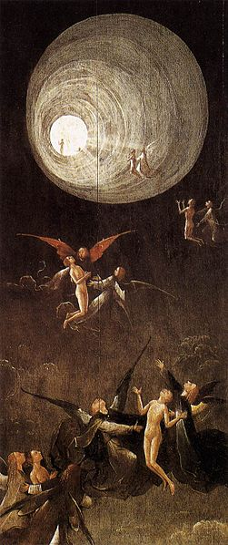 """Hieronymus Bosch """"Ascent of the Blessed"""""""