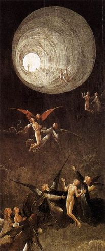 "Hieronymus Bosch ""Ascent of the Blessed"""